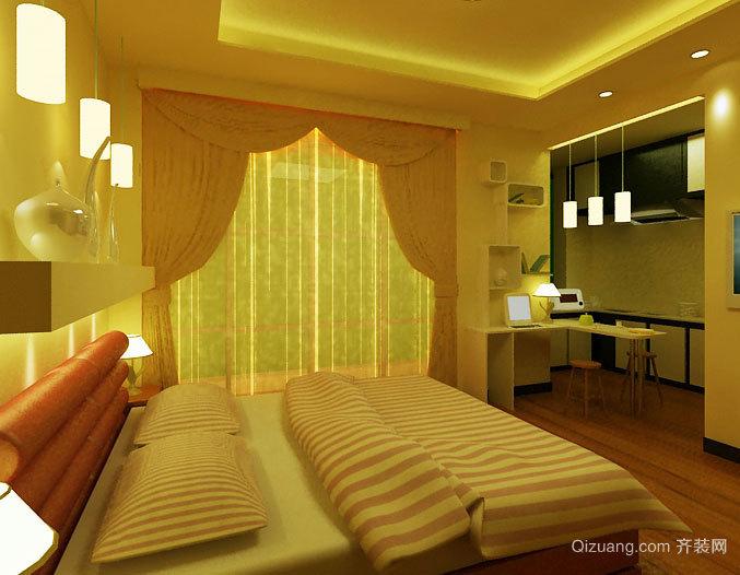 全新2015现代简约版酒店式公寓装修效果图