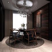 欧式经典风格别墅餐厅桌椅装饰