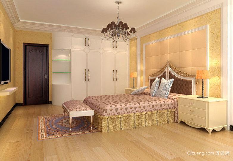 2015设计独特精致的老房翻新卧室装修效果图鉴赏