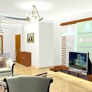 欧式风格家庭电视背景墙装修