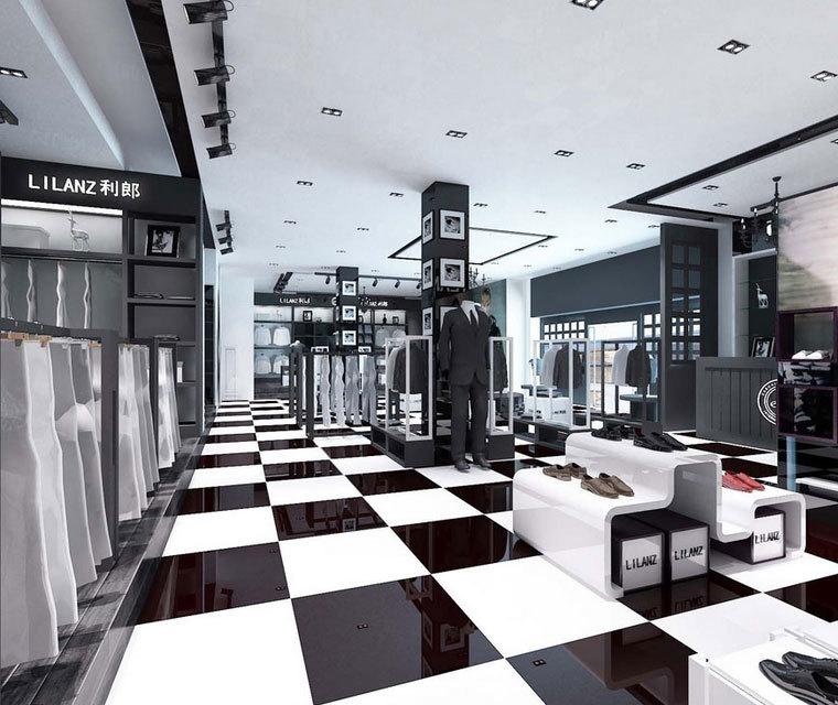 做梦都想不到的精致:现代时尚都市服装店装修效果图鉴赏