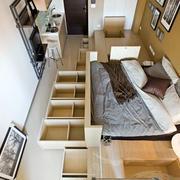 公寓简约客厅俯视图装饰