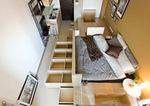 气氛适合青年人的单身公寓装修效果图