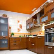 美式简约风格公寓厨房装饰