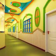 幼儿园过道创意吊顶