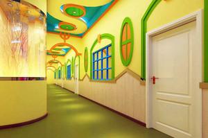 孩子成长途中的驿站:幼儿园装修设计效果图
