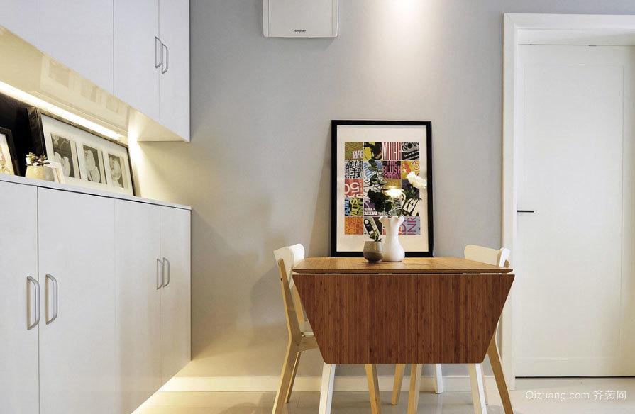 麦田的光芒:现代简洁90平米两室一厅装修效果图