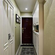 两室一厅玄关效果图