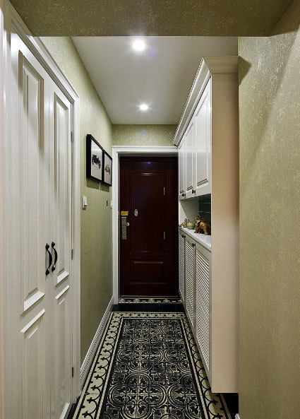 现代与古典的法式浪漫结合两室一厅室内装修效果图大全