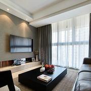 两室一厅简约客厅装饰