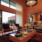 90平米房屋东南亚风格客厅装饰