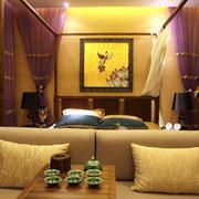 中式简约古韵婚房设计