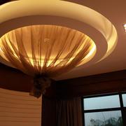 四合院简约风格大型灯饰装饰