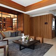 小户型客厅地板装饰