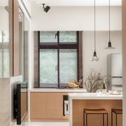 小户型简约风格厨房吧台装饰