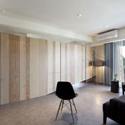 两室一厅客厅桌椅装饰