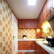 两室一厅简约美式整体橱柜装饰
