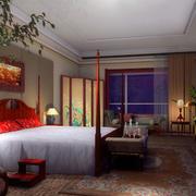 欧式深色系老房卧室装饰