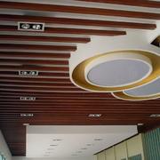 东南亚风格深色系吊顶装饰