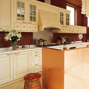四合院美式风格整体厨房装饰