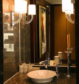 欧式古典卫浴装修效果图集