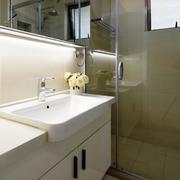 两室一厅简欧风格卫生间装饰