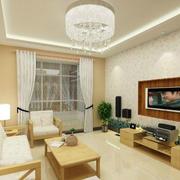 家庭客厅装修效果图