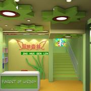 幼儿园轻快3D吊顶装饰