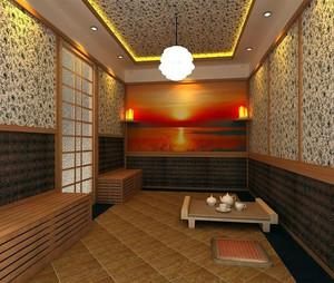 看了您就不想走:现代都市韩式汗蒸房设计效果图片大全