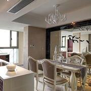 欧式奢华餐厅桌椅装饰