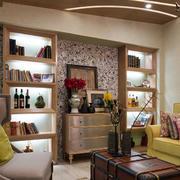 别墅欧式简约风格书房装饰