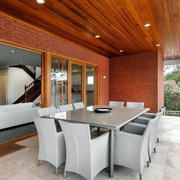 后现代风格简约阳台餐厅装饰