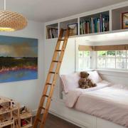 小型别墅书房榻榻米设计