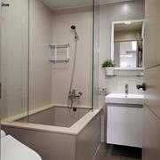 单身公寓简约风格卫生间装饰