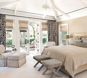 30平米清新脱俗的北欧风格卧室装修效果图