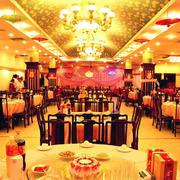 欧式奢华风格饭店大厅装饰