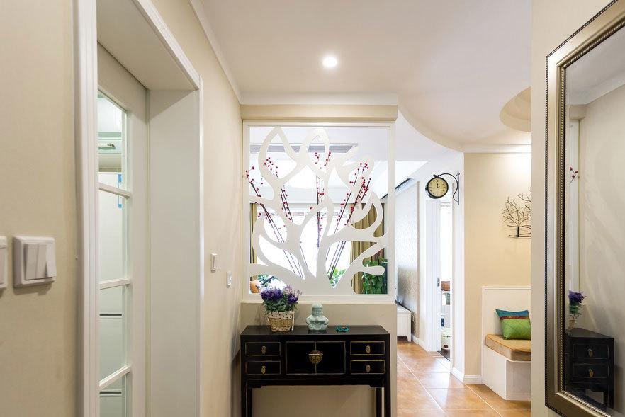 恬静悠然 混搭风格120平米三居室装修效果图