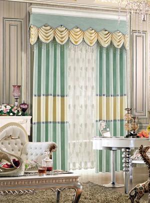 韩式清新风格窗帘装饰