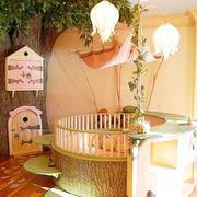 美式清新风格儿童房效果图