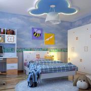 现代清新风格儿童房