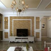 欧式简约风格背景墙装饰