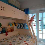 儿童房简约推拉门装饰