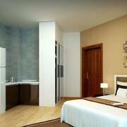 新中式风格卧室背景墙装饰