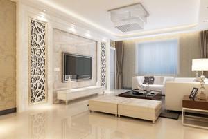 时尚现代化电视背景墙