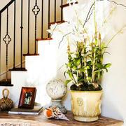 欧式简约风格楼梯装饰
