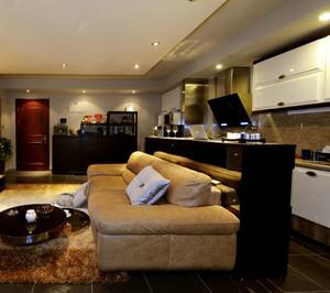 别墅客厅沙发装饰