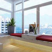 90平米房屋简约内嵌阳台装饰
