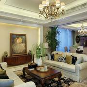 120平米房屋客厅装饰