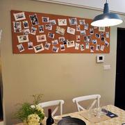 简约风格餐厅照片墙装修