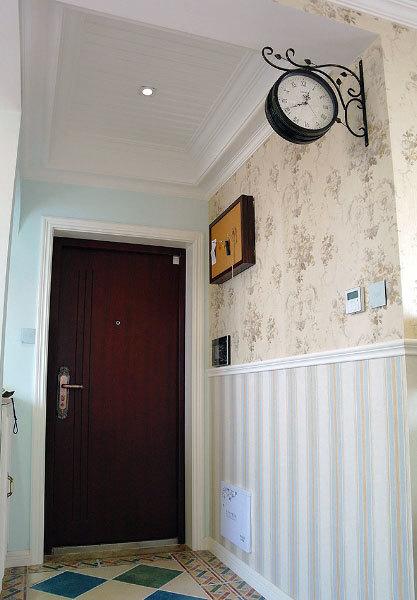 远离炊烟:英式田园120平米两室一厅精装修效果图